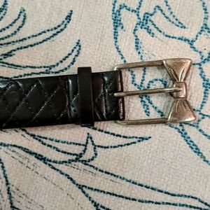 Black belt with Bow Buckle